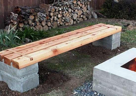DIY Bench DIY Wood Projects 10 Easy Backyard Ideas Bob Vila