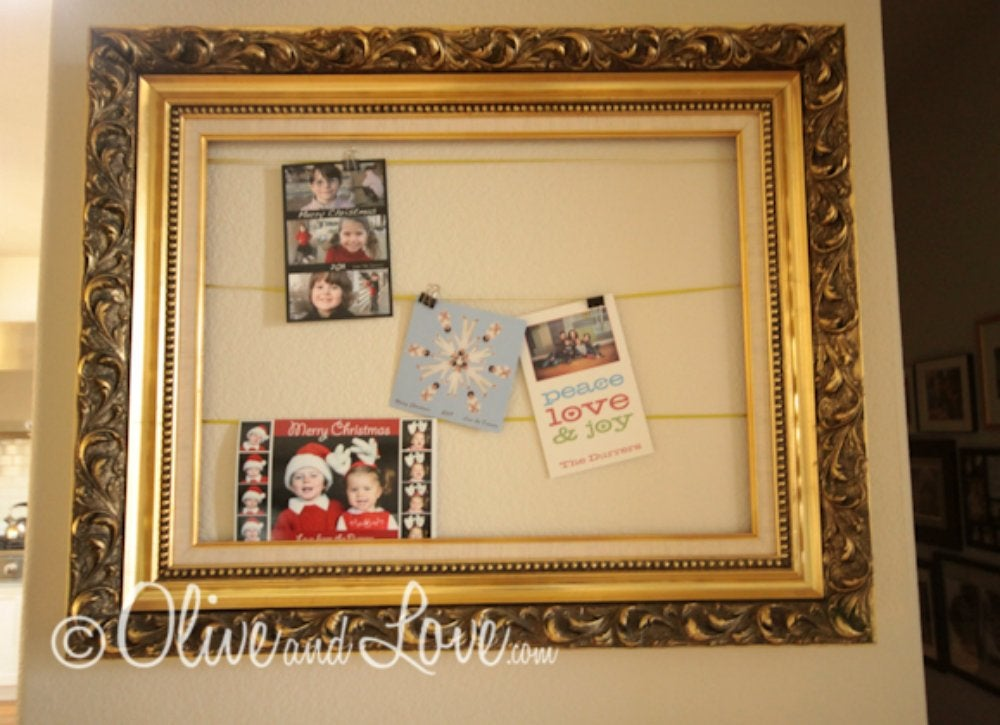 Picture frame   card display
