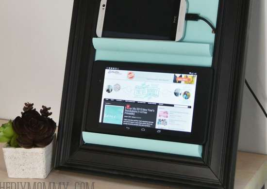 Picture frame   charging station