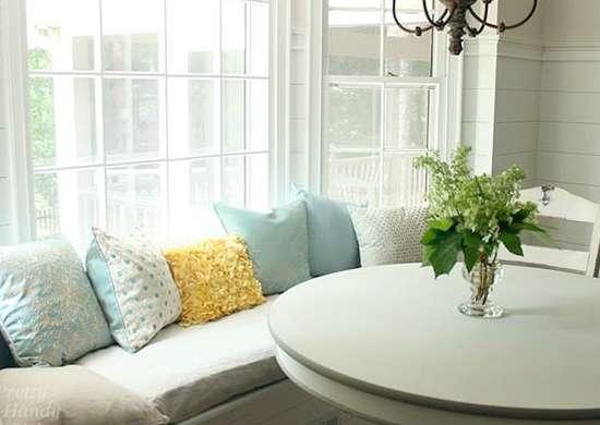 DIY window seat