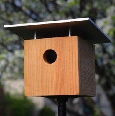 Curbly diy modern birdhouse