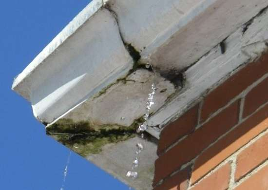 Cracked gutters 2