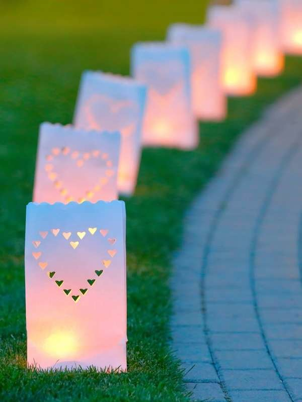 Make Garden Luminaries