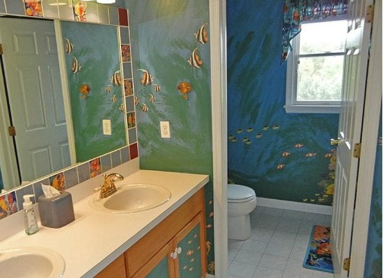 Kids bath mural ideas