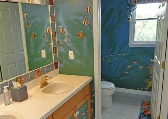 Mural Ideas - Kids Bathroom Ideas - 8 Fresh Designs - Bob Vila
