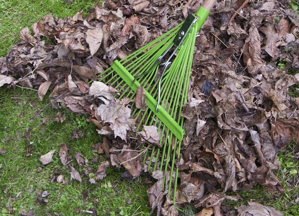 Leaf-rake