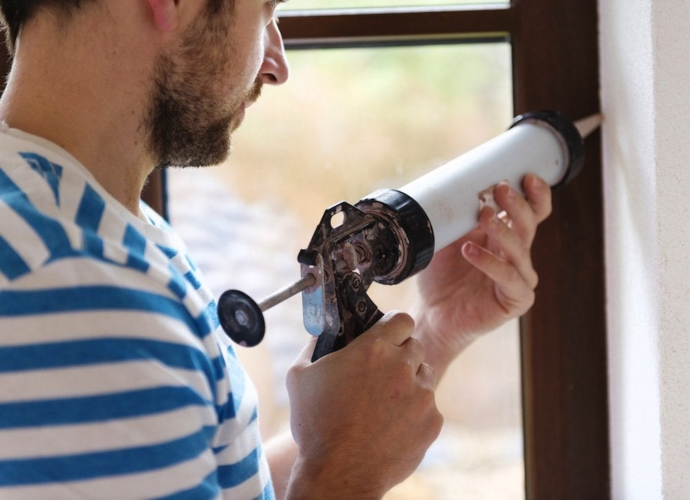 Window caulk