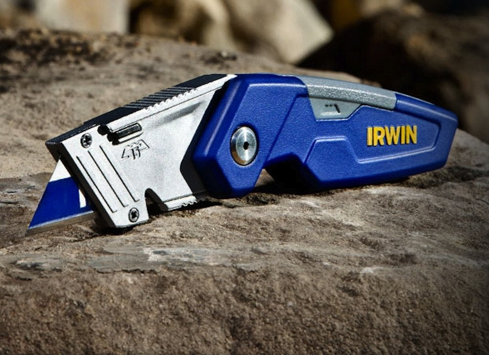 Irwin folding utility knife