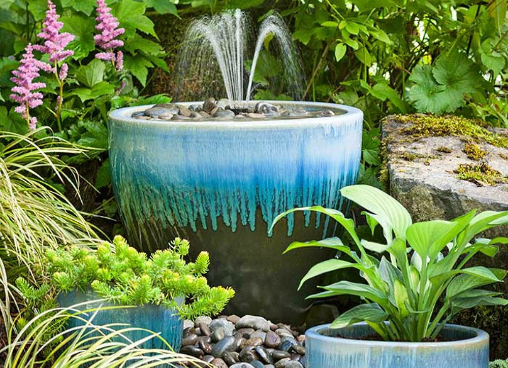 Diy Planter Fountain Diy Fountain 10 Creative Projects