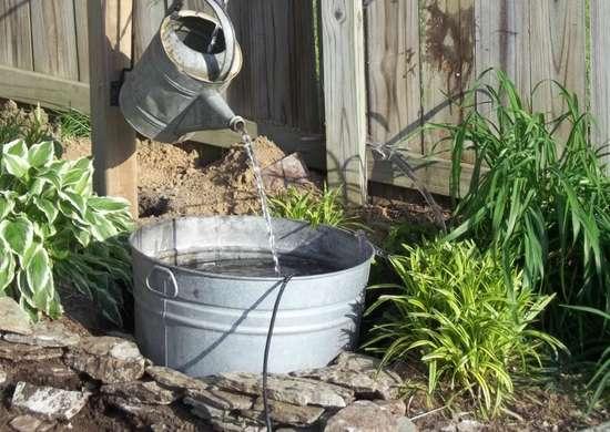 Vintage Watering Can Diy Fountain Ideas 10 Creative