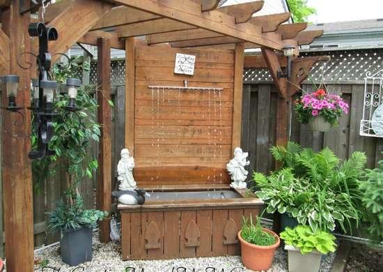 Outdoor Fountain DIY Fountain Ideas Creative Projects Bob - Backyard fountain ideas