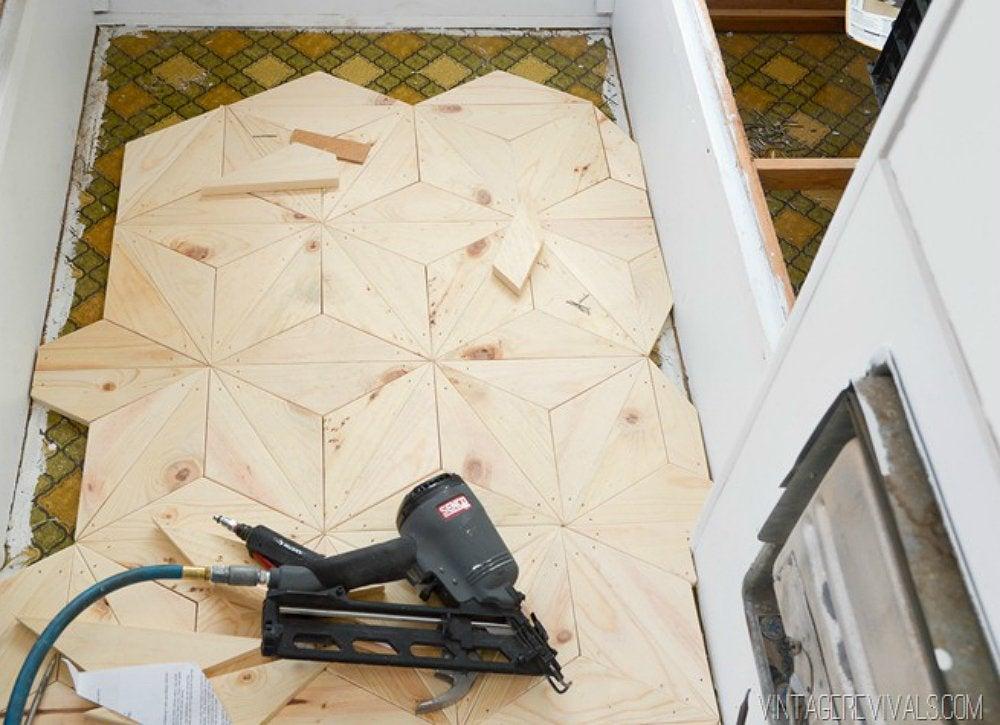 Geometricwoodfloor