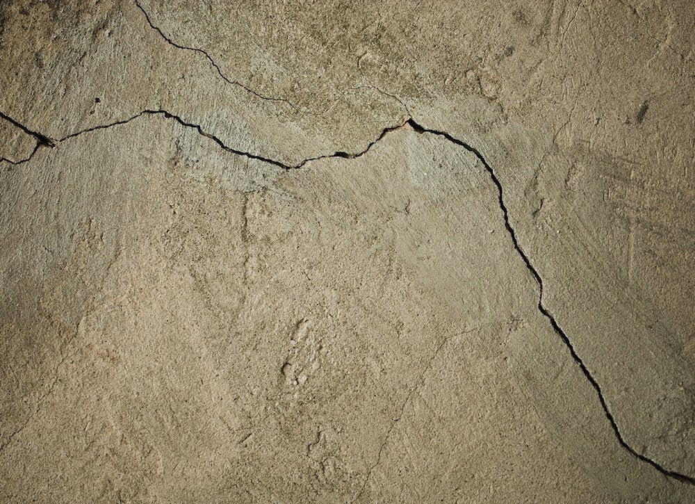 Concrete cracks