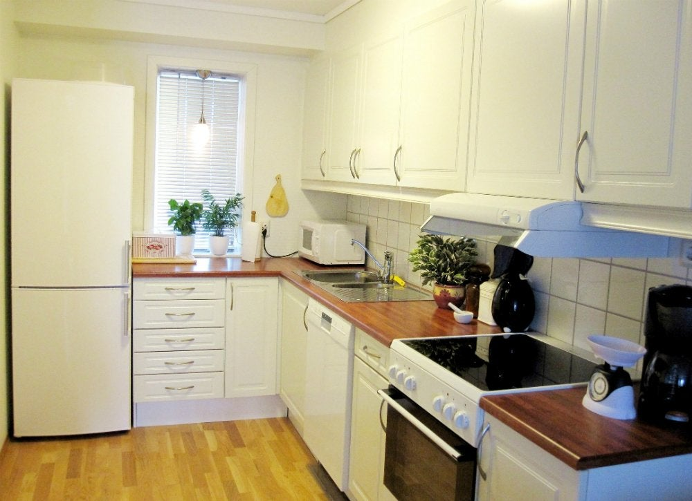 Small Kitchen Solutions - 31+ Small House Kitchen Designs  Pics