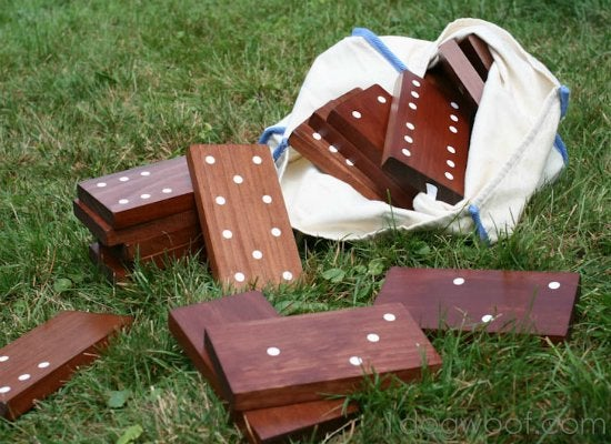 Diy outdoor dominoes