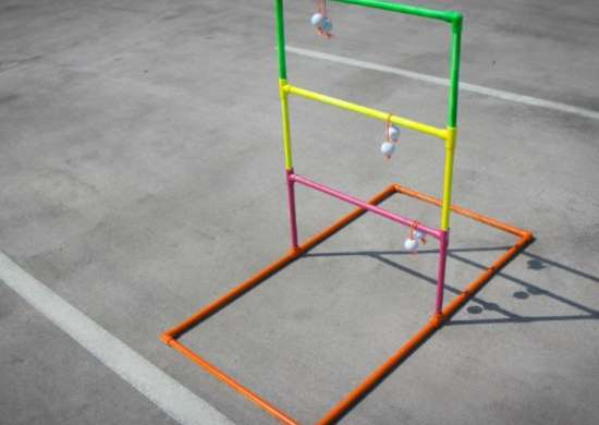 Diy ladder ball