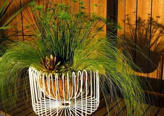 Ikea hack planter