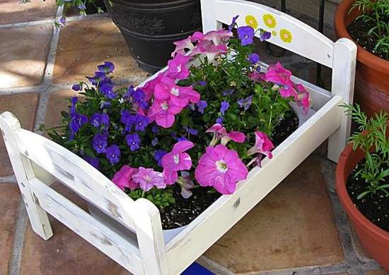 Ikea hack flower pot