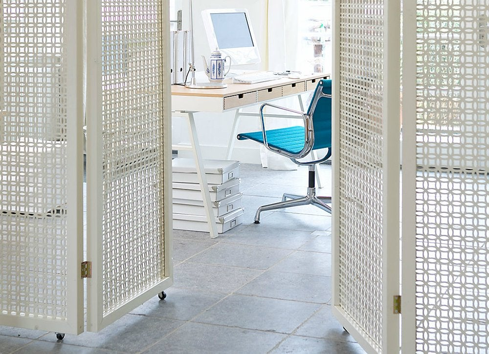 Room dividers ideas to buy or diy bob vila for Dividers for small spaces