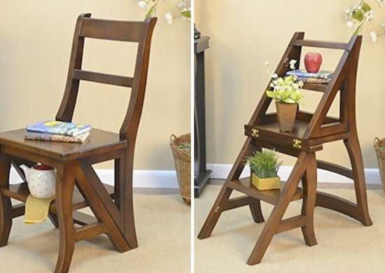 Ben Franklin Library Ladder Chair