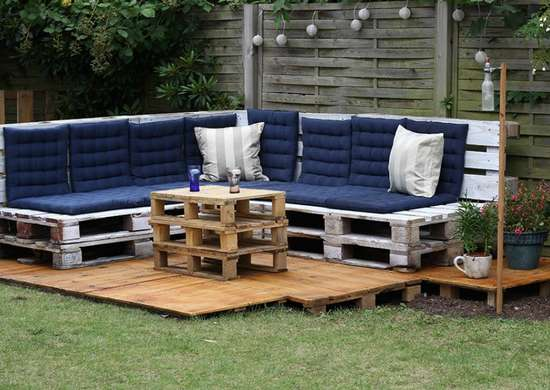 Outdoor hangouts   lounge