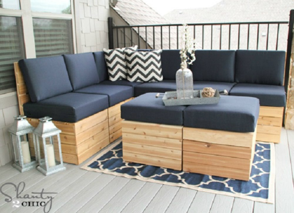 Outdoor hangouts   sectional