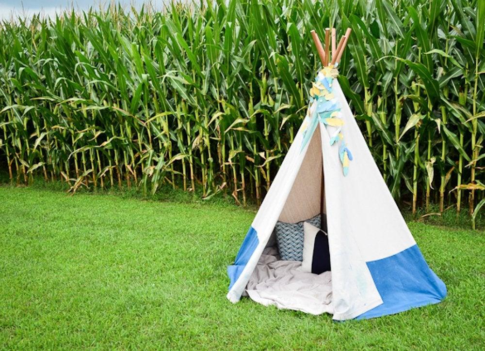 DIY Teepee - DIY Backyard Ideas - 9 Creative Ways to Make ...