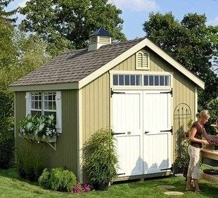 Hayneedle williamsburg colonial garden shed