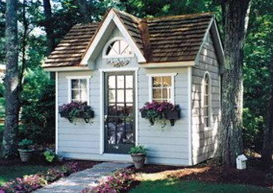 Copper Creek Garden Shed