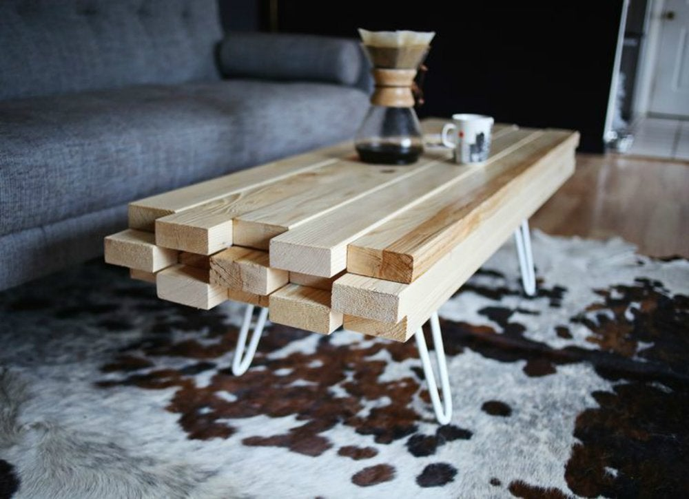 Diy Coffee Table 2x4 Projects 8 Cool Diys Bob Vila