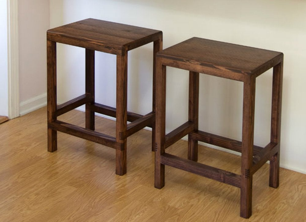 Diy bar stools 2x4 projects 8 cool diys bob vila for Cool things to build with 2x4s