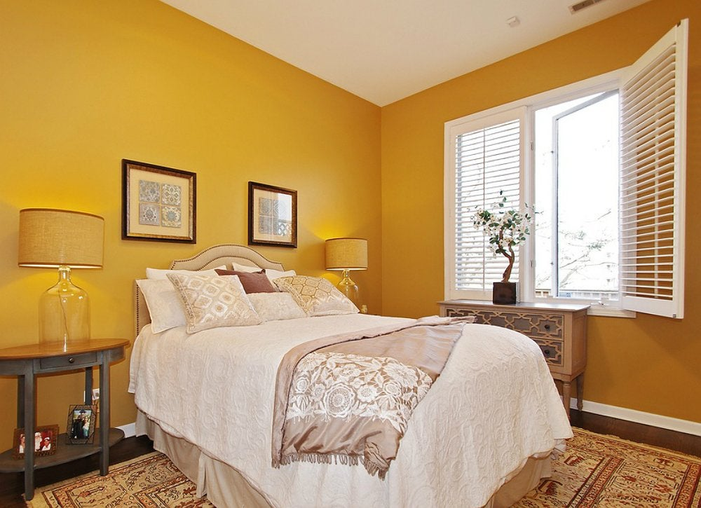 Yellow-bedroom