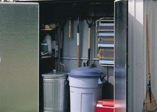Walmart arrow steel storage locker
