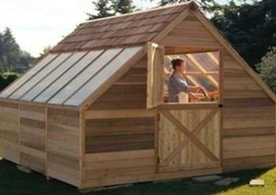 Garden Shed Alternative To Glass