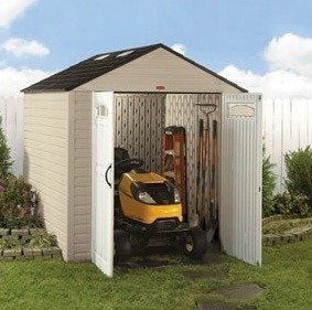 Rubbermaid big max outdoor shed