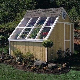 Handyhomeproducts 181 phoenix solar garden shed