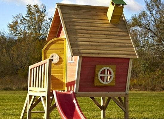Swing n slide hide n slide playhouse