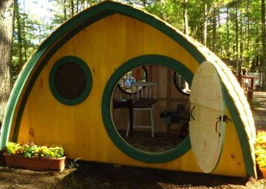 Hobbit home playhouse
