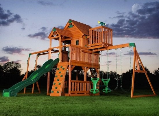 Adventure playset skyfort playhouse