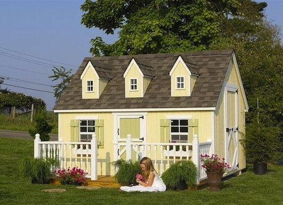 Cape cod kid playhouse