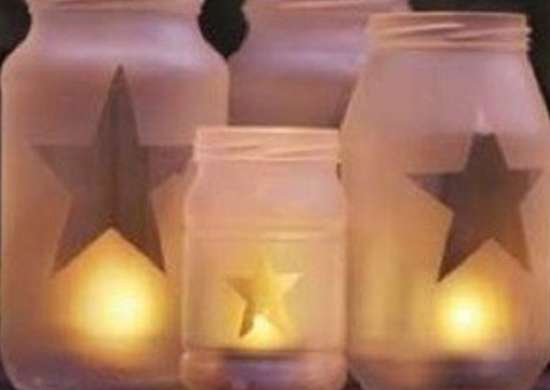 Studio5 frosted glass luminaries