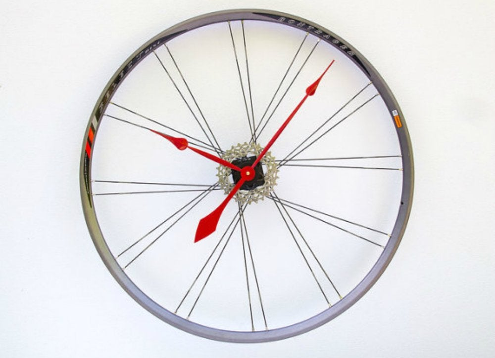 Sporting equipment   bike clock