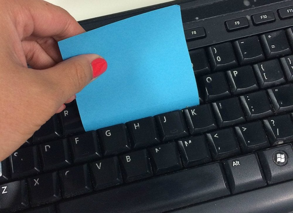 Post it keyboard