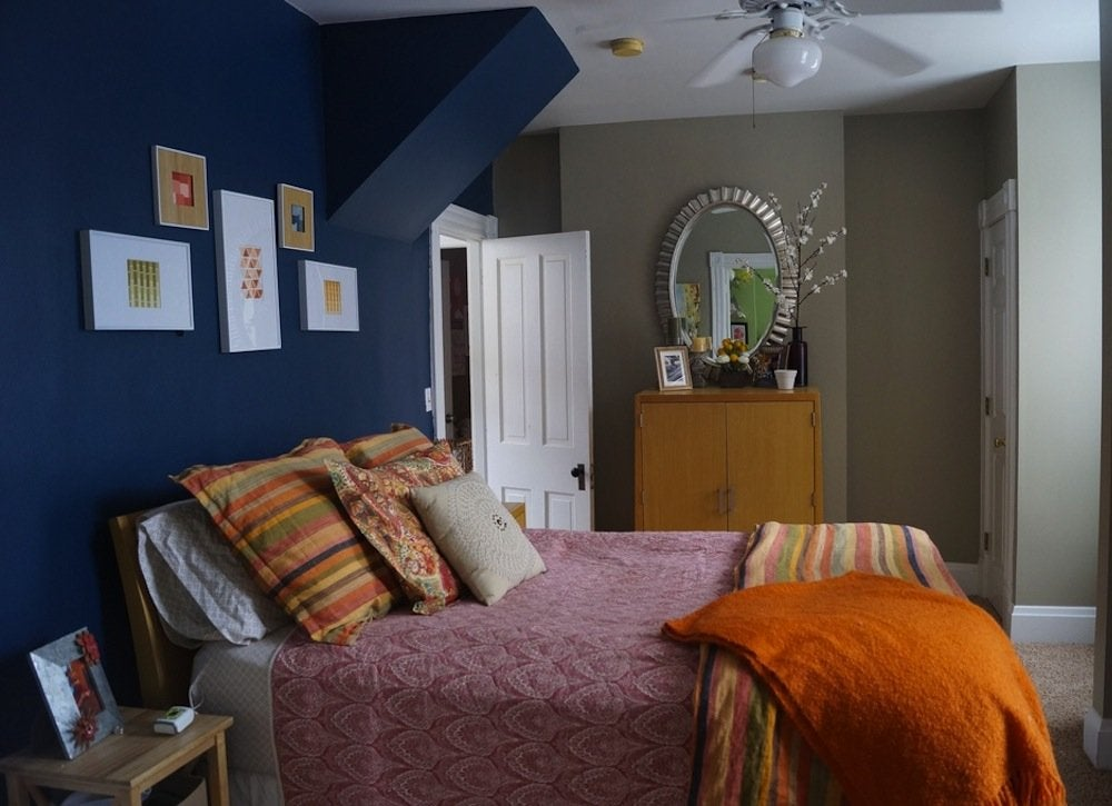 blue bedroom paint colors for small spaces 7 to try 18529 | dark blue bedroom 1475725271