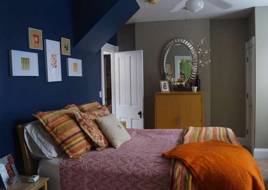 Blue bedroom paint colors for small spaces 7 to try bob vila - Small spaces george paint ...