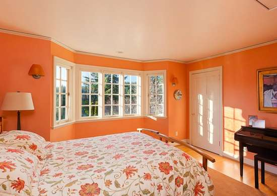 orange color bedroom orange bedroom paint colors for small spaces 7 to try 12745