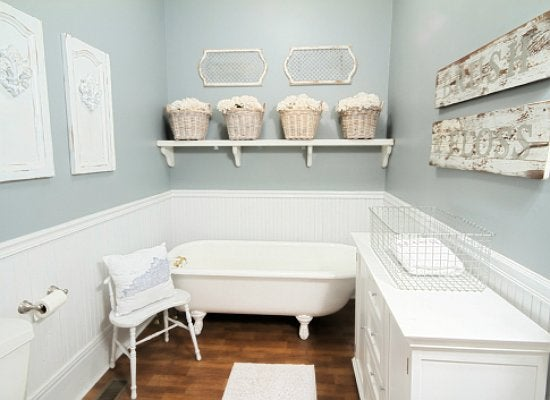 Country bathroom. Small Bathroom Makeovers   Before and After   Bob Vila
