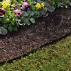 Permanent Mulch Border