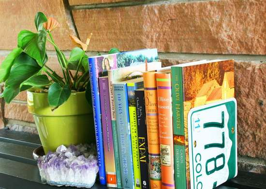 DIY Bookends
