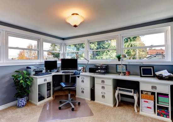 Separate Home Offices